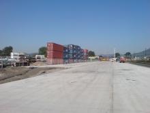 Terminál - stavební práce 16.7. 038