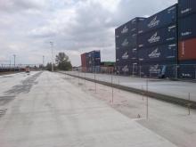 Terminál - stavební práce 16.7. 011