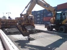 Terminál - stavební práce 16.7. 030